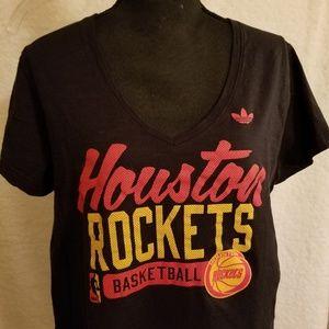 Adidas Houston Rockets Ladies T-Shirt